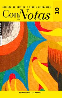 Ver Núm. 10 (2008): Connotas. Revista de crítica y teoría literarias