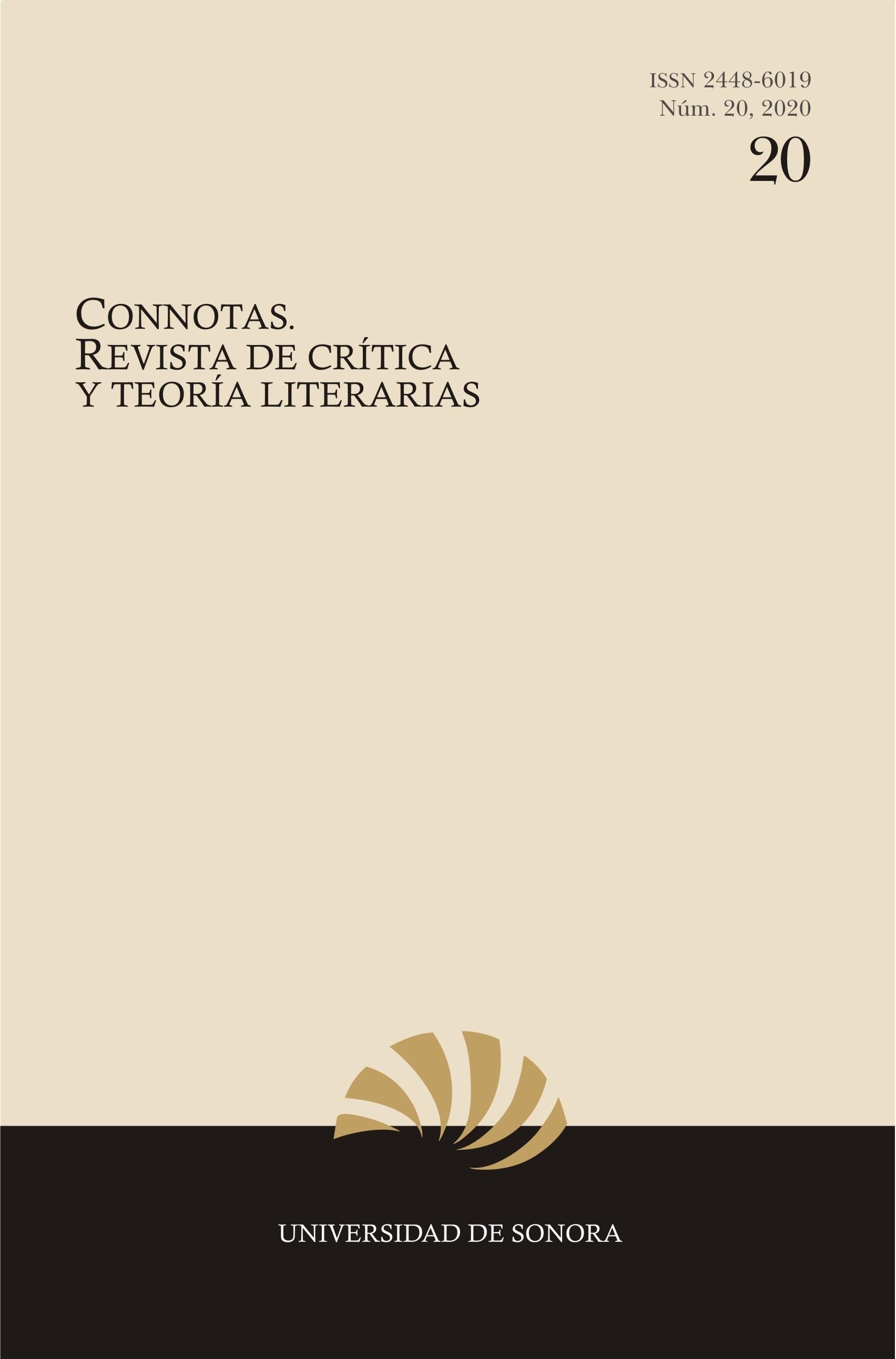 Ver Núm. 20 (2020): Connotas. Revista de crítica y teoría literarias